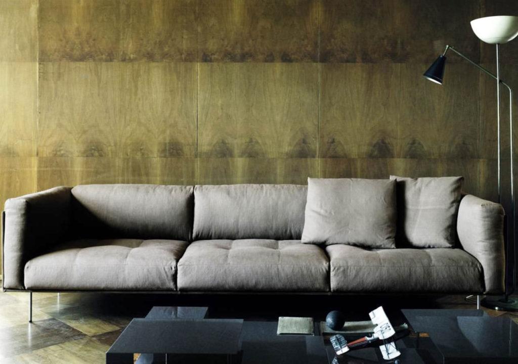 Divano imbottito rod - Piccolo divano imbottito ...