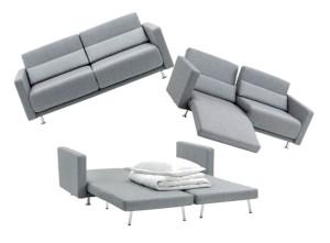 Un divano trasformabile per il tuo monolocale - Divano letto per monolocale ...