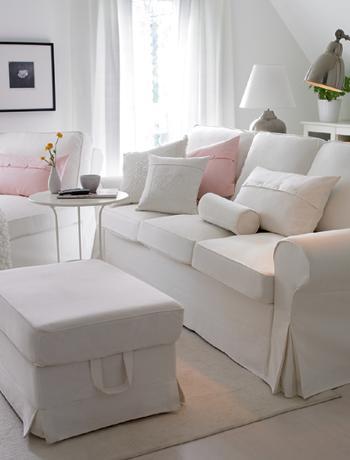 Il divano classico la tendenza shabby chic - Copridivano shabby ikea ...