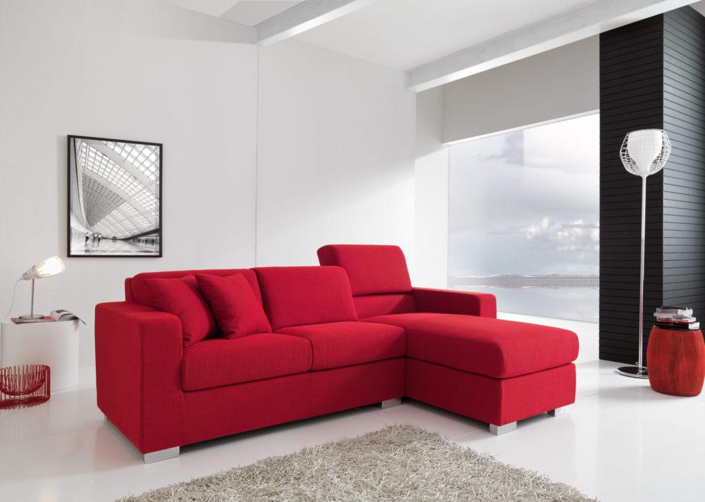 Divani componibili tondi divani bianchi in tessuto for Idee divani