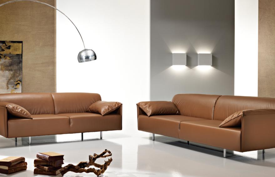 Un divano letto dal design italiano anfibio - Distanza tv divano ...